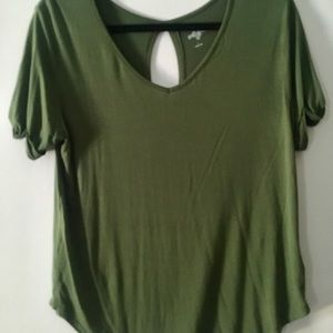 Army green, SS Tee, Size L
